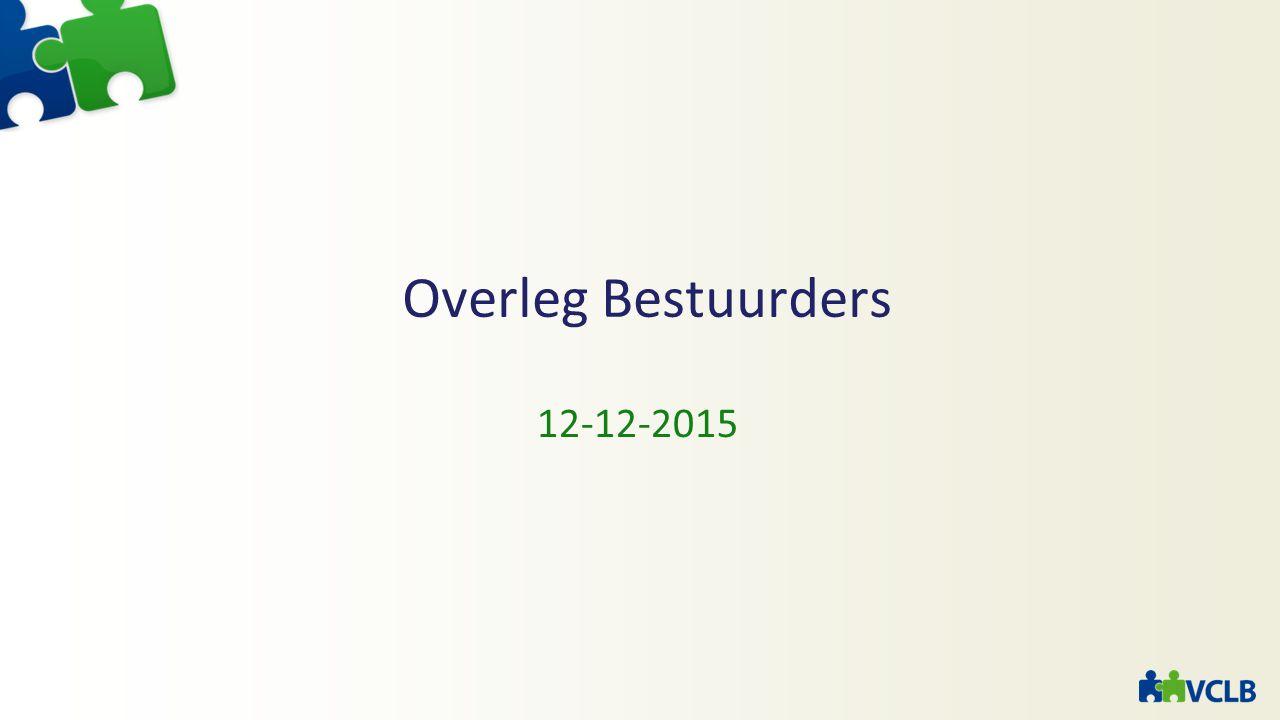 Overleg Bestuurders 12-12-2015