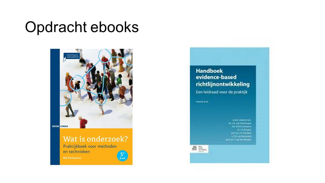 Uitwerking opdracht (Verhoeven, 2014) Verhoeven, N.