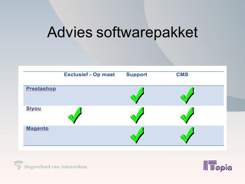 Advies hosting