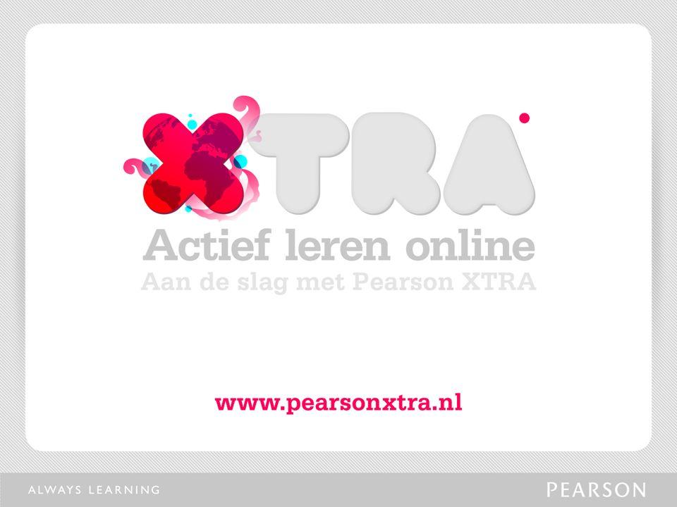 De nieuwe studiewebsites van Pearson Benelux www.pearsonxtra.nl Vergroot je kennis met behulp van gevarieerd studie- en oefenmateriaal Wat is Pearson XTRA?