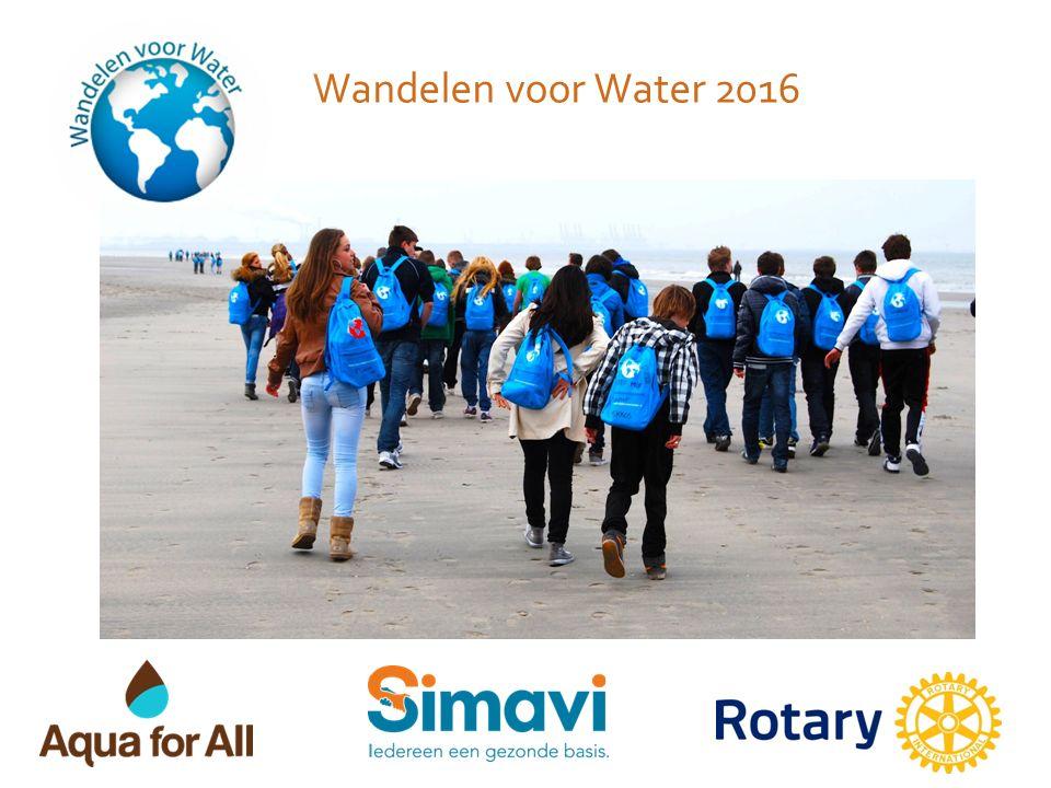 Wandelen voor Water 2016