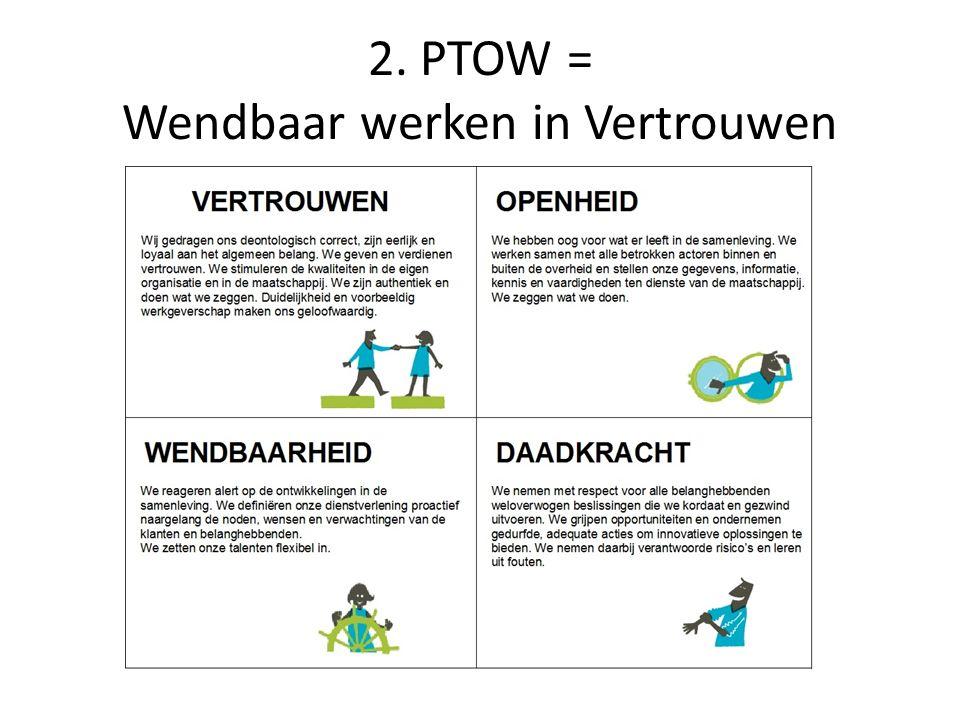 2. PTOW = Wendbaar werken in Vertrouwen