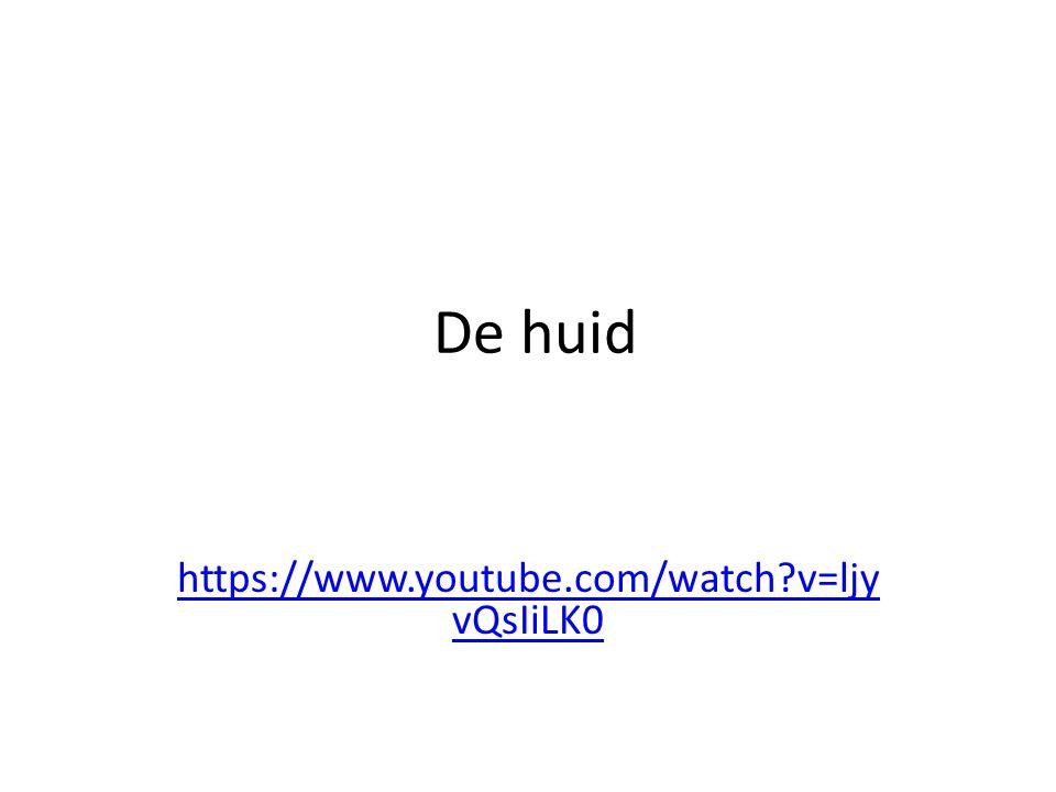 De huid https://www.youtube.com/watch?v=ljy vQsIiLK0