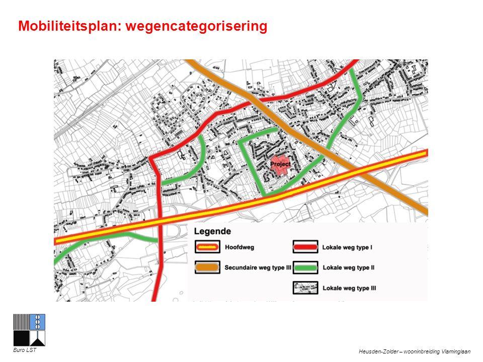 Heusden-Zolder – wooninbreiding Vlaminglaan Buro LST Mobiliteitsplan: wegencategorisering