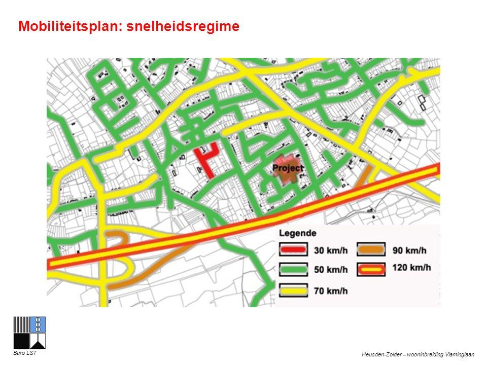 Heusden-Zolder – wooninbreiding Vlaminglaan Buro LST Verkeerstellingen Vlamingenlaan Gemiddelde etmaalintensiteit in de ochtend: Toekomststraat: 73 personenwagens per etmaal Belikstraat: 132 personenwagens per etmaal