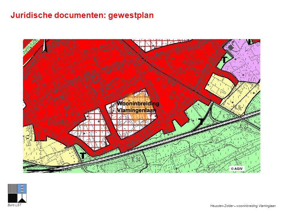 Heusden-Zolder – wooninbreiding Vlaminglaan Buro LST Juridische documenten: inrichtingsplan