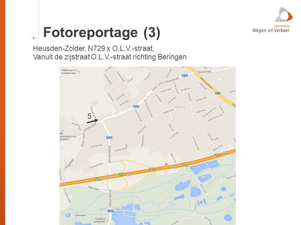 Fotoreportage (3) Heusden-Zolder, N729 x O.L.V.-straat, Vanuit de zijstraat O.L.V.-straat richting Beringen 5