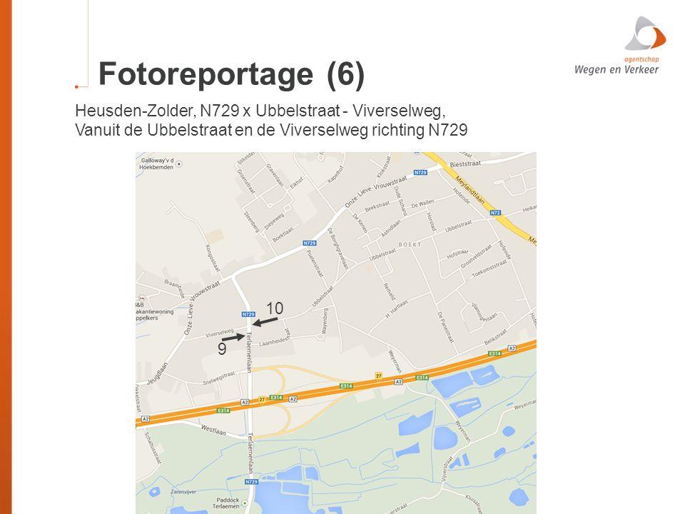 Fotoreportage (6) Heusden-Zolder, N729 x Ubbelstraat - Viverselweg, Vanuit de Ubbelstraat en de Viverselweg richting N729 9 10