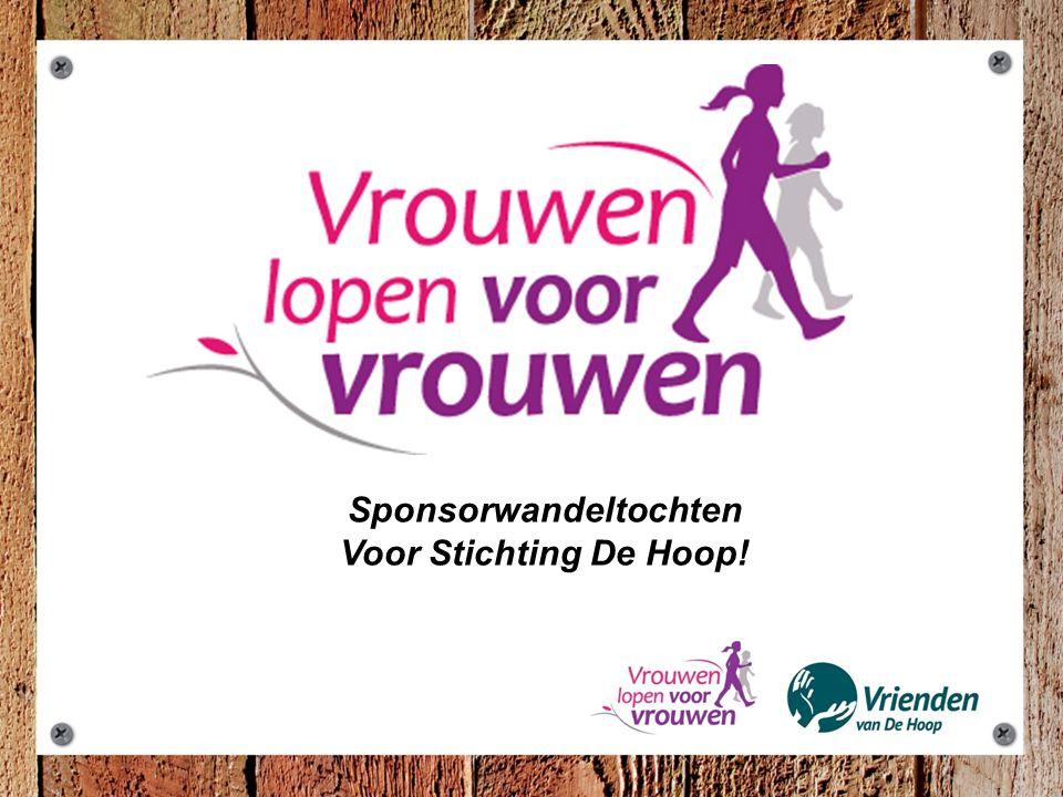 Sponsorwandeltochten Voor Stichting De Hoop!