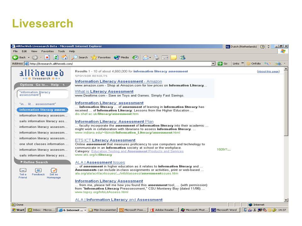 Crossengine Niet echt een metazoekmachine maar een 'dashboard' Snelle toegang tot verschillende zoekmachines, zonder dat je de vraag opnieuw hoeft in te typen