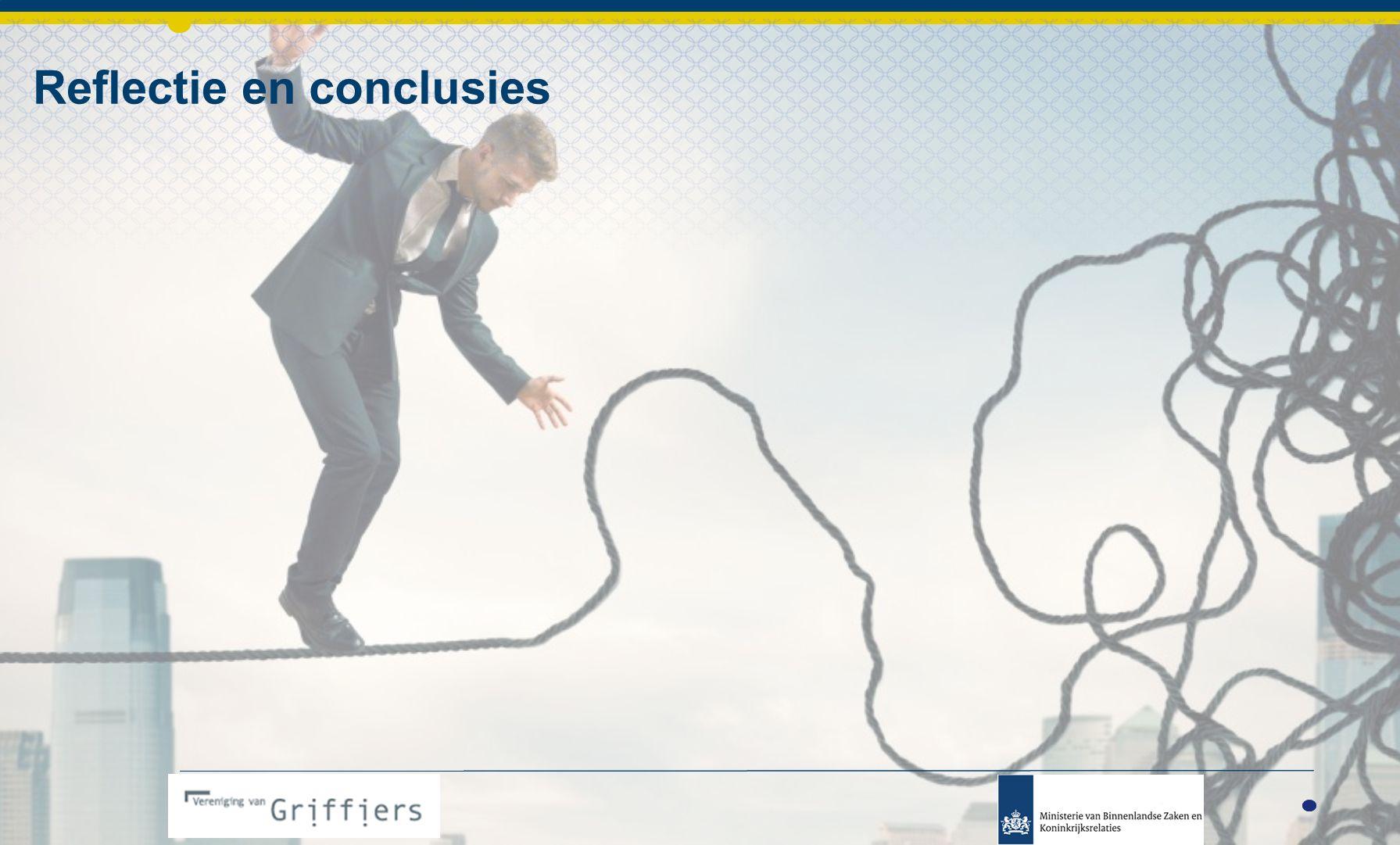 Reflectie en conclusies
