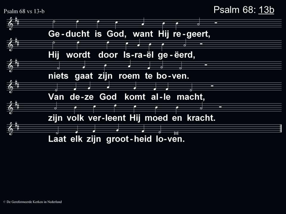 Psalm 68: 13b