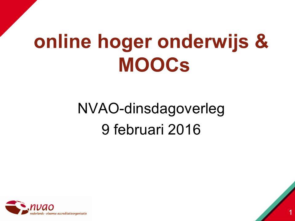 NVAO-dinsdagoverleg 9 februari 2016 1