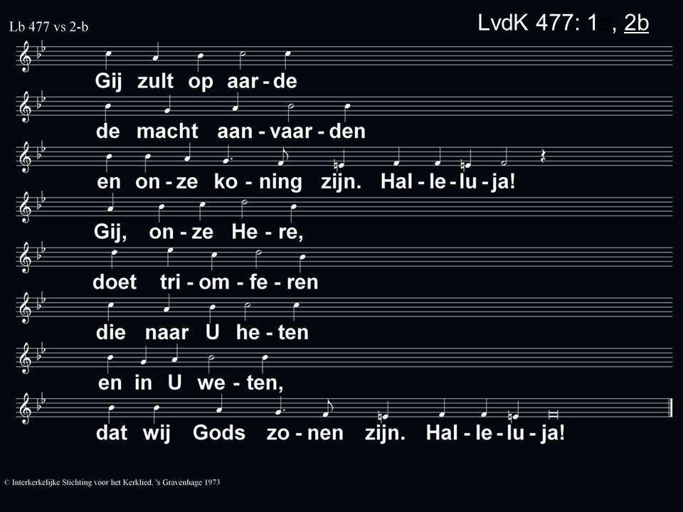 LvdK 477: 1a, 2b