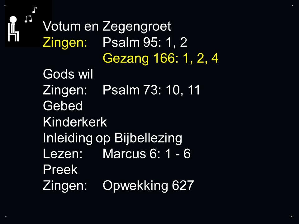 ... Gezang 166: 1, 2, 4