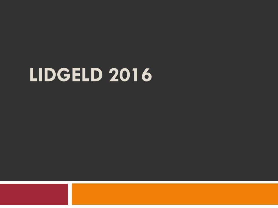 LIDGELD 2016