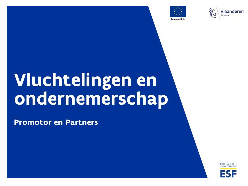 Vluchtelingen en ondernemerschap Promotor en Partners