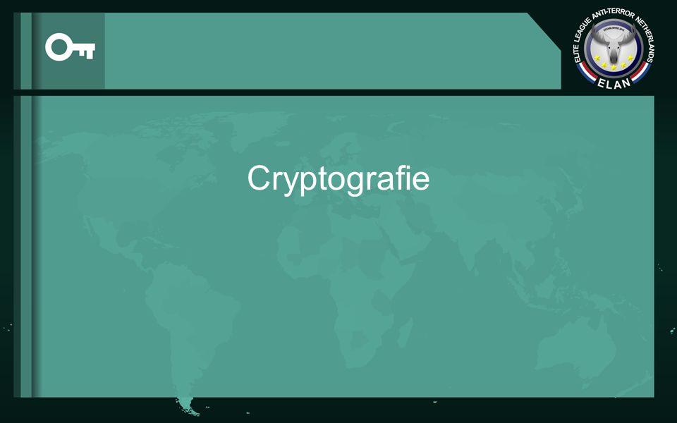 Inhoudsopgave Wat is cryptografie.