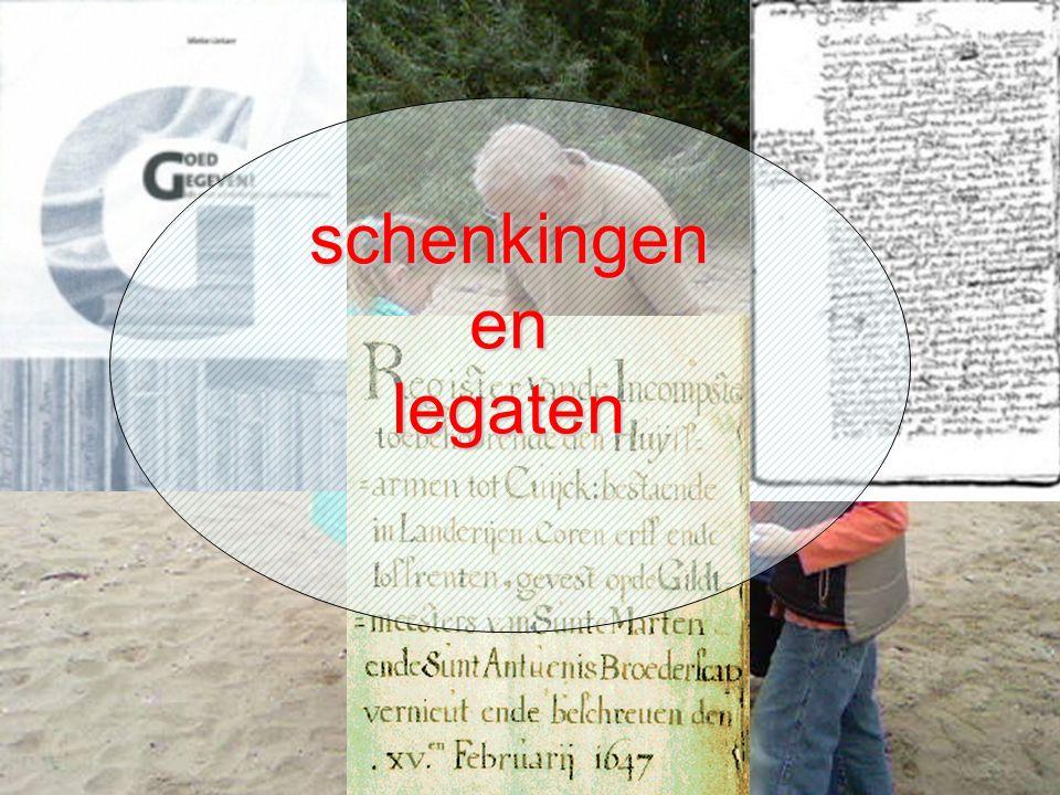 2009-2010Belasting8 schenkingenenlegaten