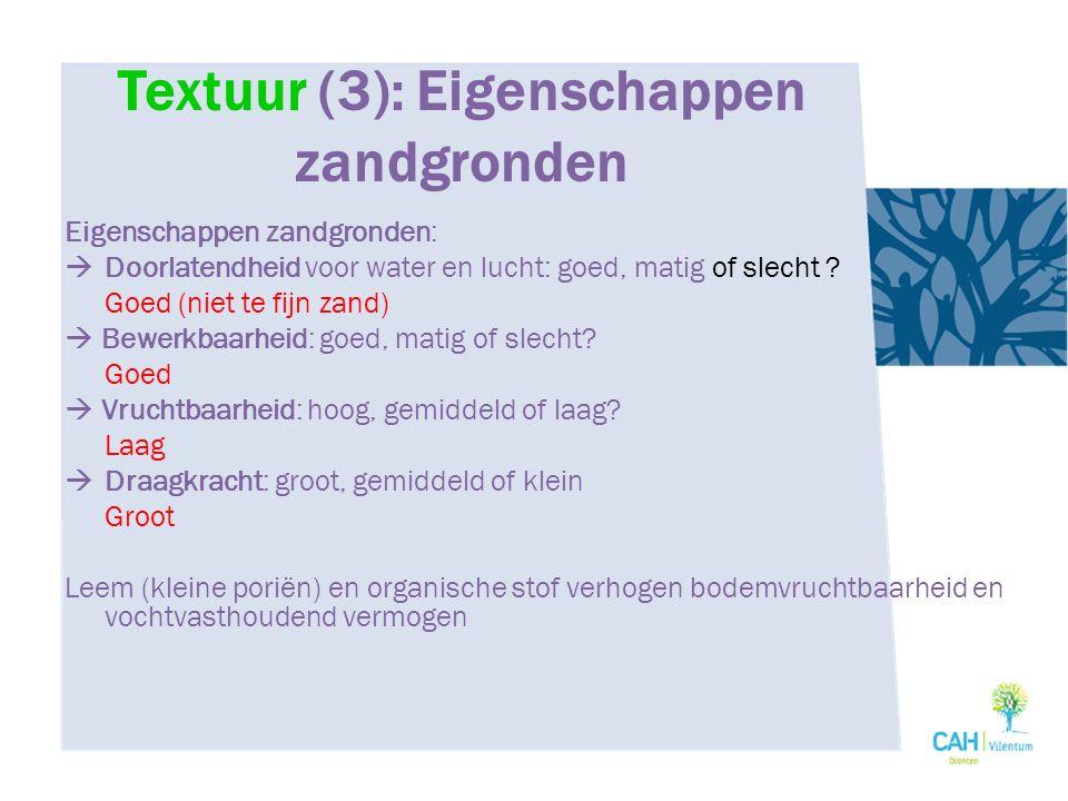 biogene structuurelementen: afgeronde ribben, ruwe vlakken.