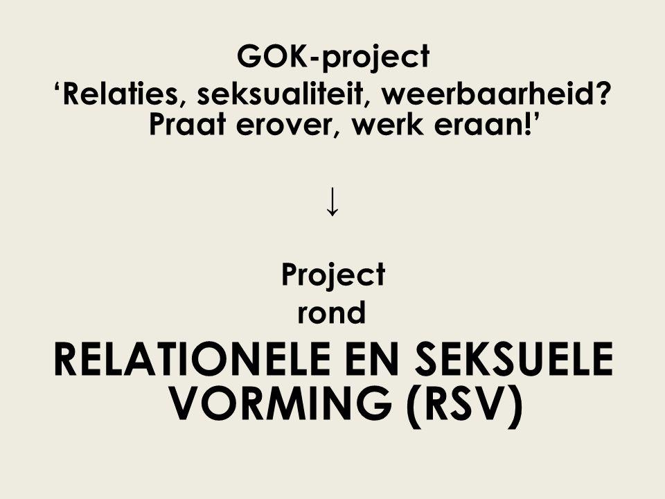 GOK-project 'Relaties, seksualiteit, weerbaarheid.