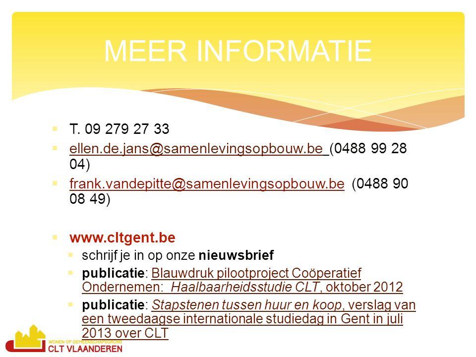  T. 09 279 27 33  ellen.de.jans@samenlevingsopbouw.be (0488 99 28 04) ellen.de.jans@samenlevingsopbouw.be  frank.vandepitte@samenlevingsopbouw.be (