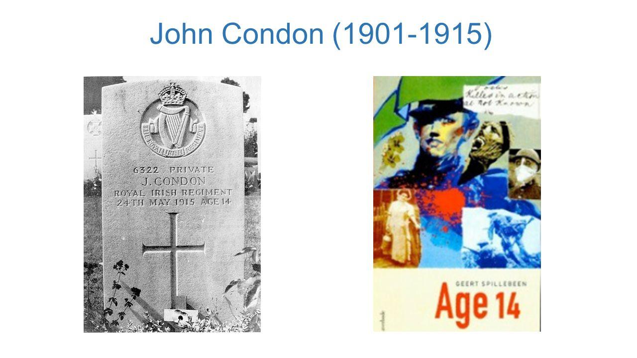 John Condon (1901-1915)