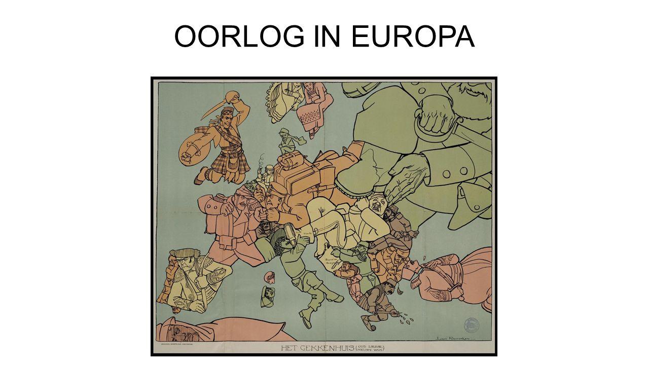 OORLOG IN EUROPA