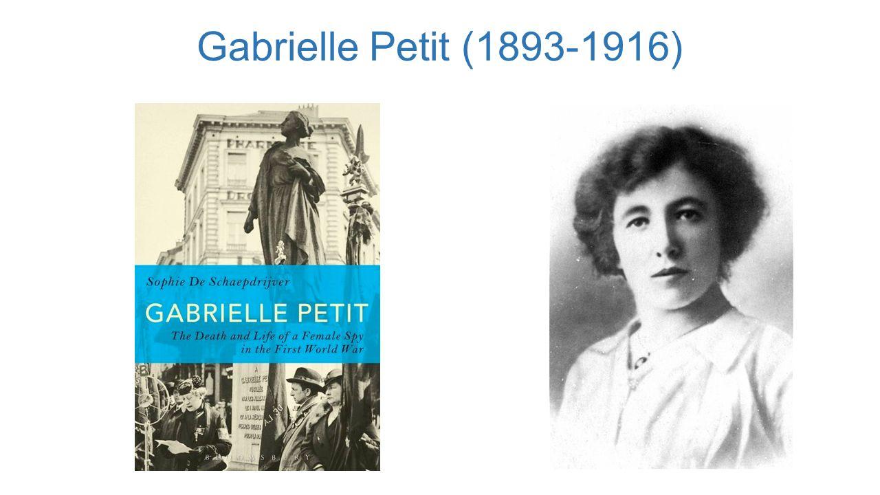 Gabrielle Petit (1893-1916)