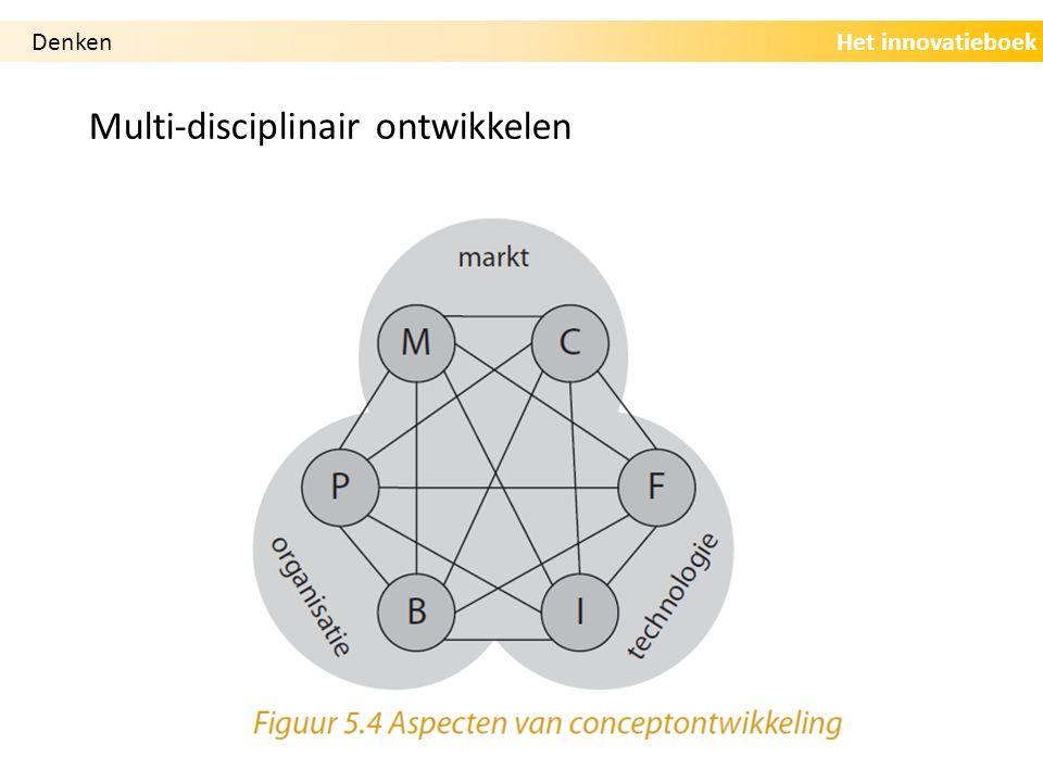 Het innovatieboek Multi-disciplinair ontwikkelen Denken