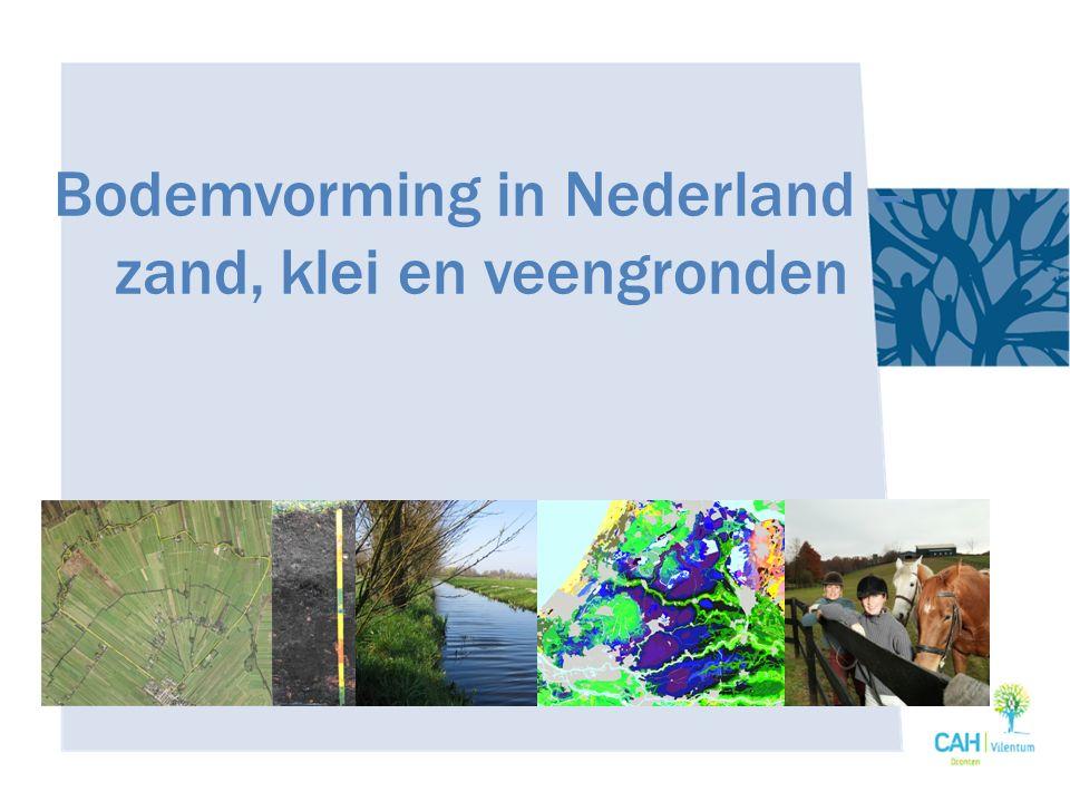 Veen Waar in NL vinden we veengronden?