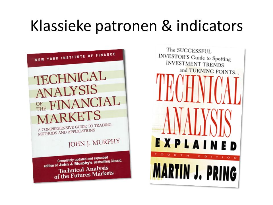 Klassieke patronen & indicators