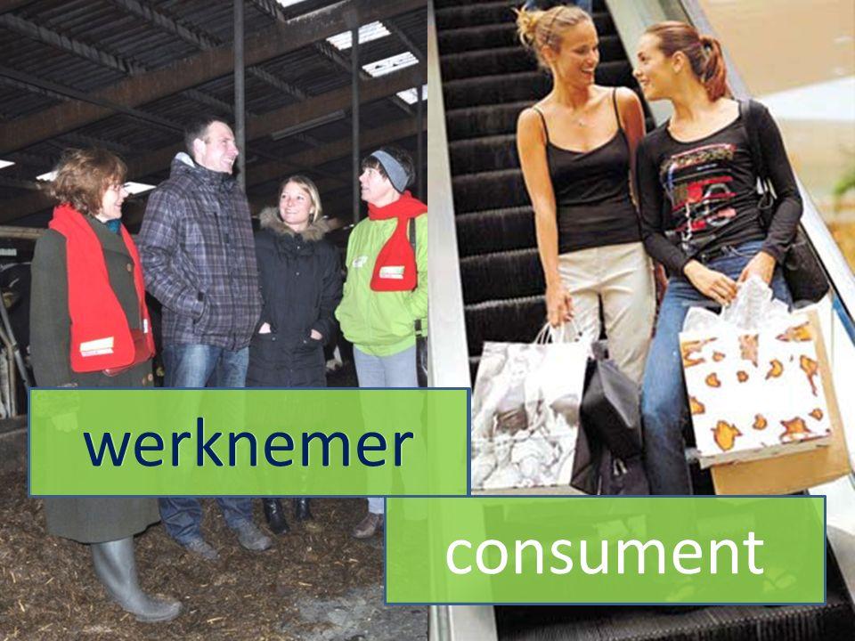 werknemer consument