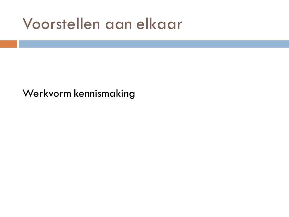Voorbereiding bijeenkomst 1.2 Afsluiting: werkvorm Thuisopdrachten: voorbereiding VAD bijeenkomst 1.2 http://maken.wikiwijs.nl/63454/Vakdidactiek_KOP_en _Minor_1