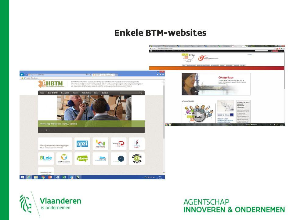 Enkele BTM-websites