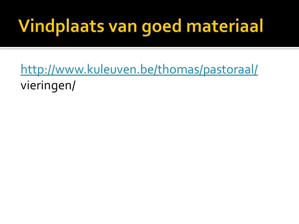 http://www.kuleuven.be/thomas/pastoraal/ vieringen/