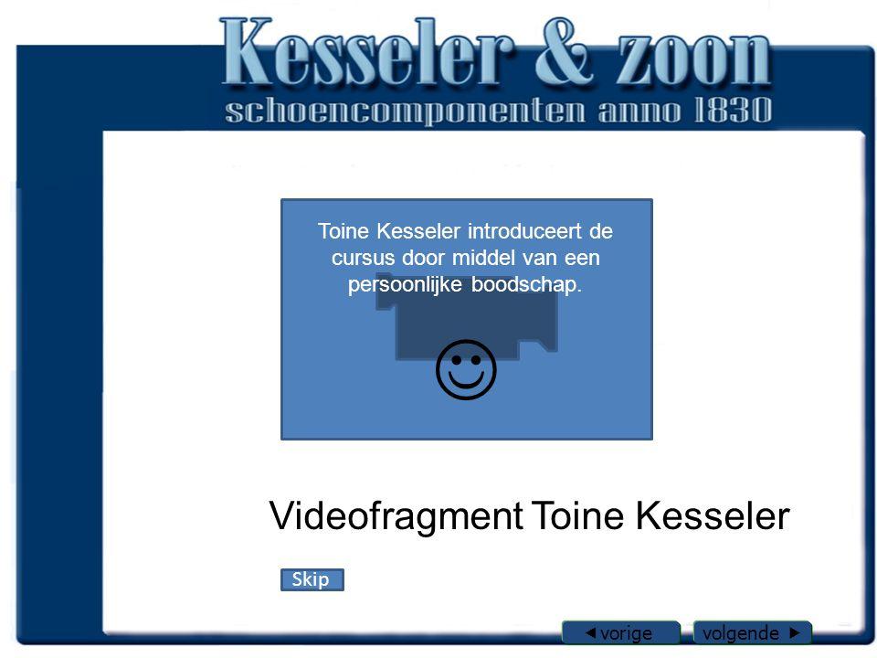 Videofragment Toine Kesseler Toine Kesseler introduceert de cursus door middel van een persoonlijke boodschap.