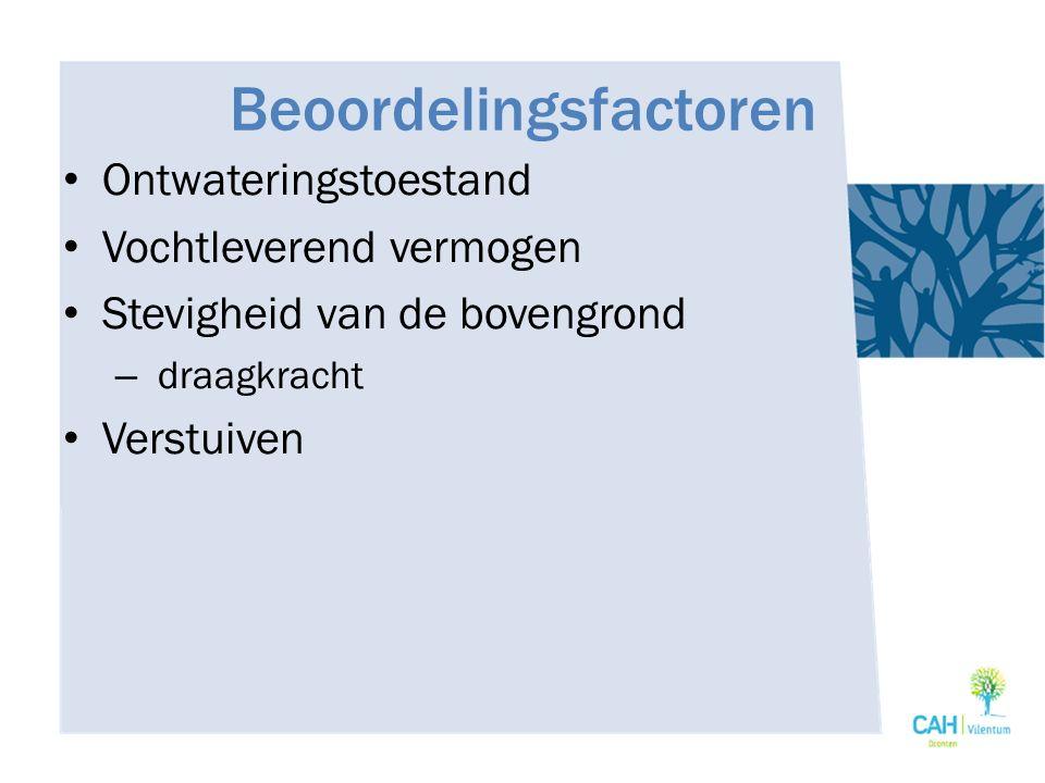 Verklaring classificatie weidebouw 1:Gronden met ruime mogelijkheden voor de weidebouw.