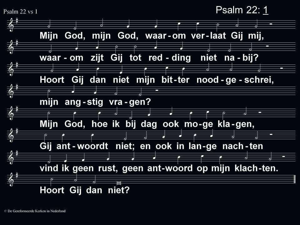 Psalm 22: 1