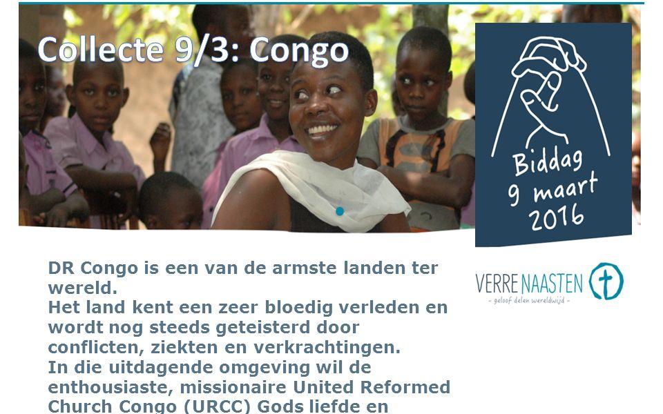 DR Congo is een van de armste landen ter wereld.