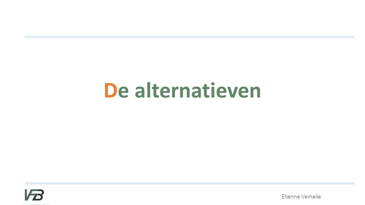 Etienne Verhelle De alternatieven