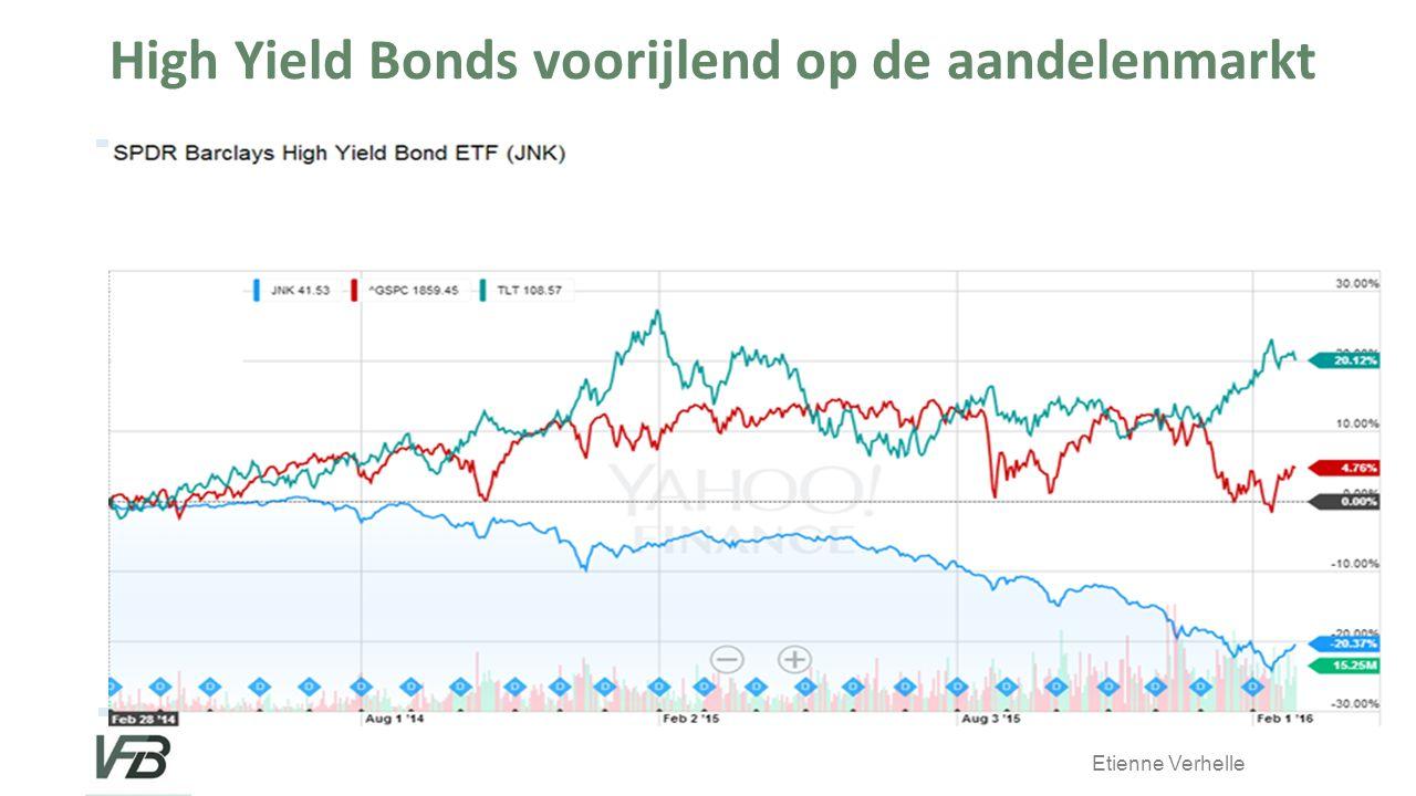 Etienne Verhelle High Yield Bonds voorijlend op de aandelenmarkt
