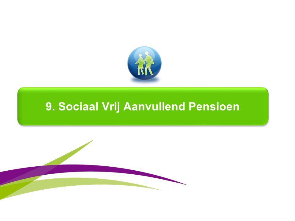 9. Sociaal Vrij Aanvullend Pensioen