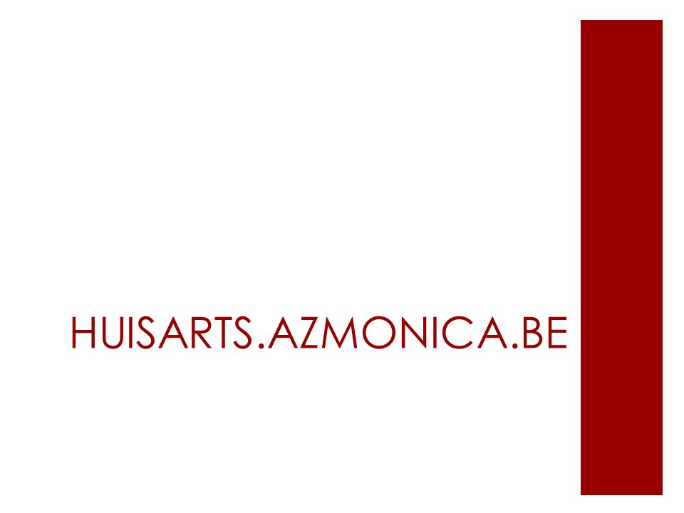 HUISARTS.AZMONICA.BE