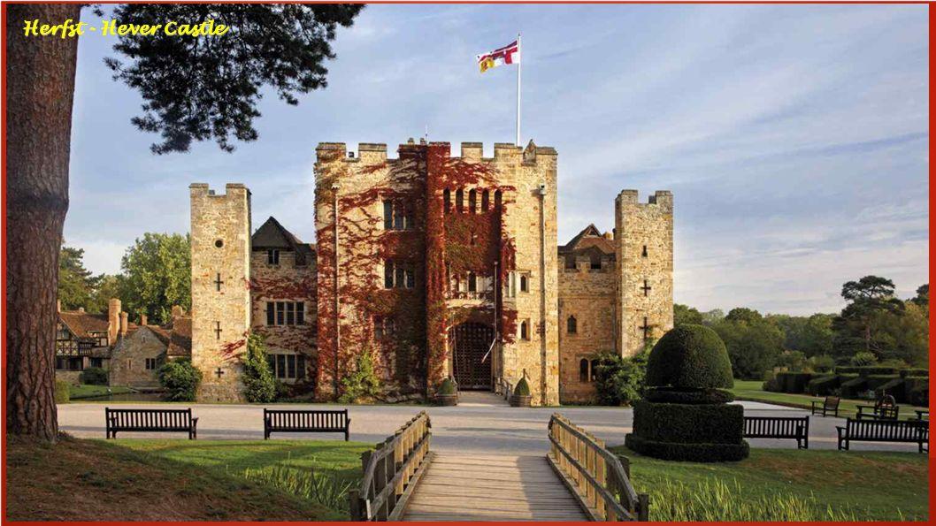 Herfst - Hever Castle