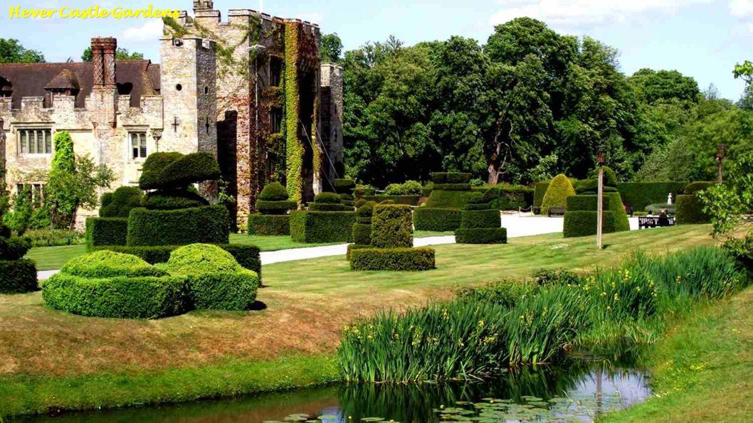 Hever Castle - Ommuurde Tuin