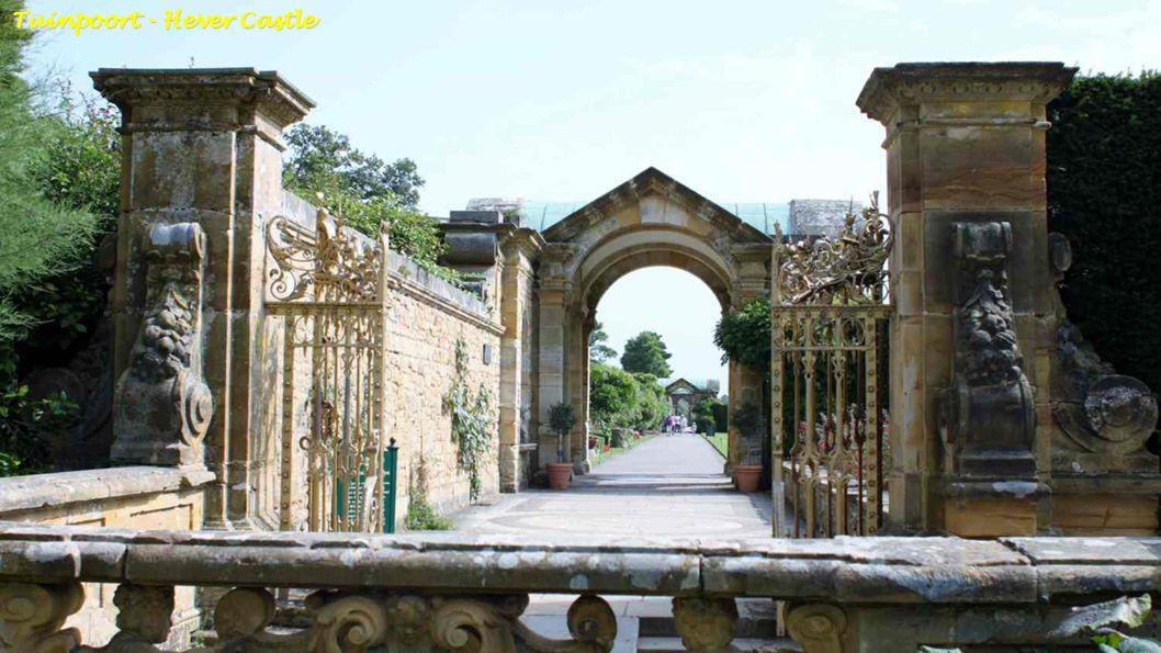 Hever Castle-Secret Garden