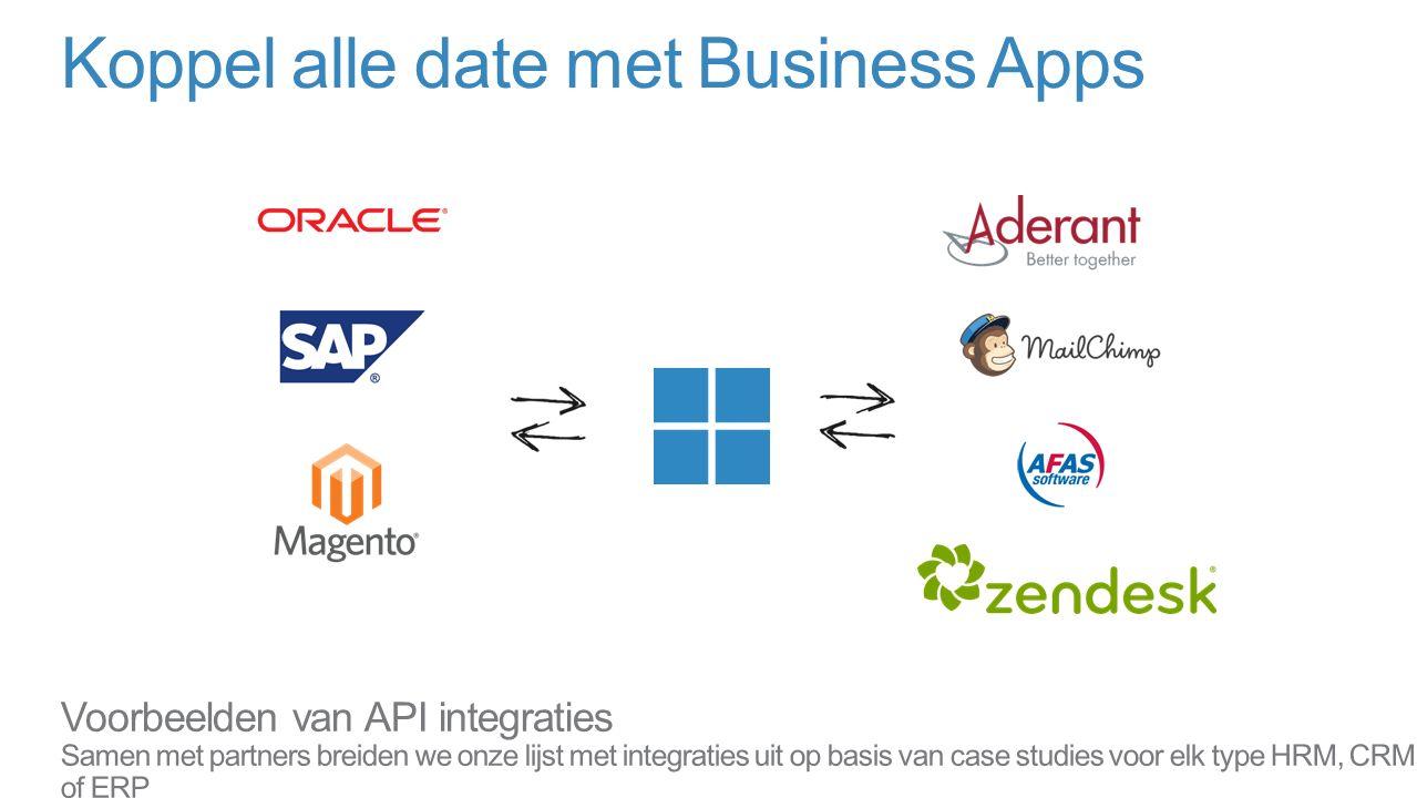 Koppel alle date met Business Apps