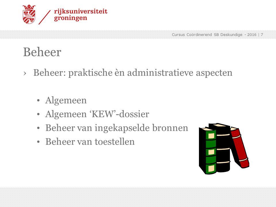›Algemeen (14.4.11 / 15.3 / 16.3) KEW-vergunning (incl.