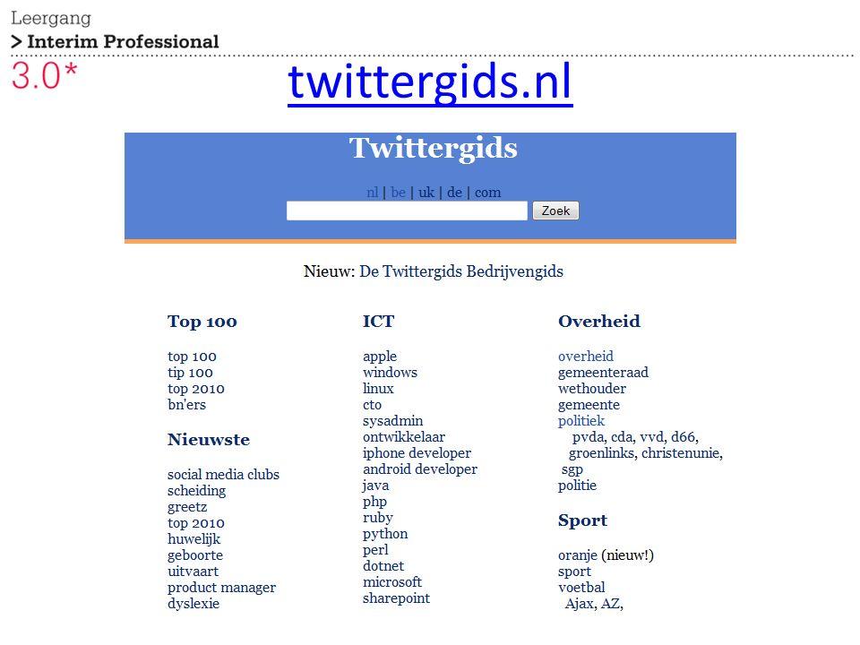 twittergids.nl